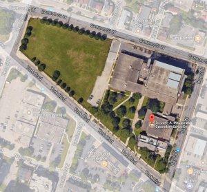 Community Hub Aerial Photo