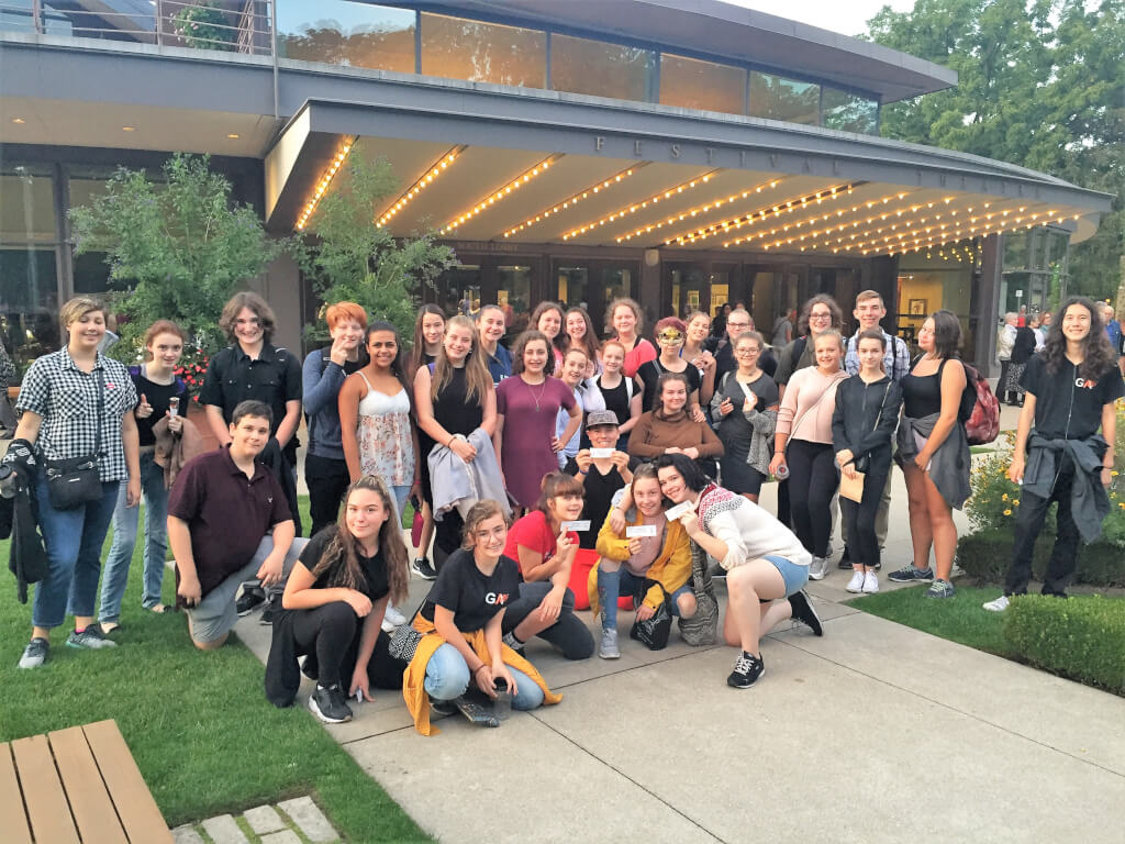 Glendale Program of the Arts students' talents flourish at Stratford Festival