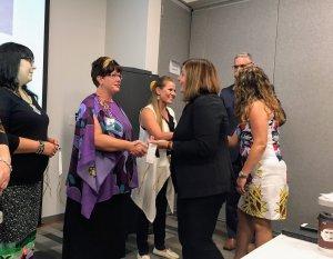 principal receives wampum