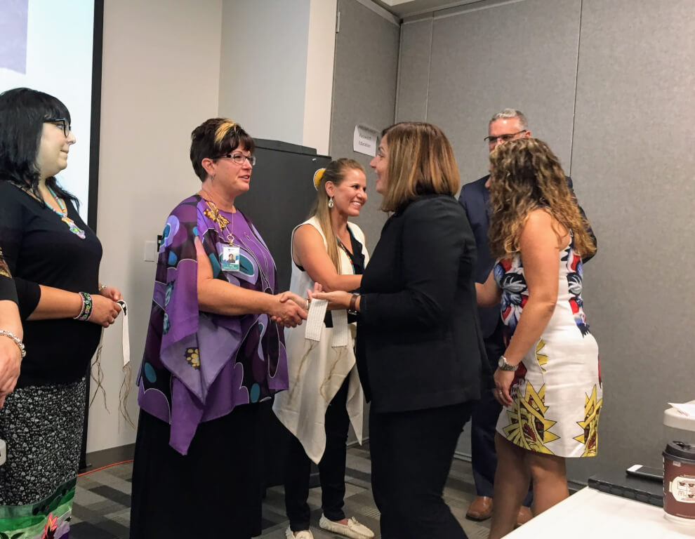 Schools Receive Wampum Belts to Signify Indigenous Reconciliation
