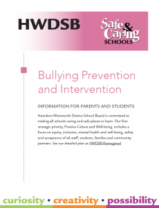 bullying guide