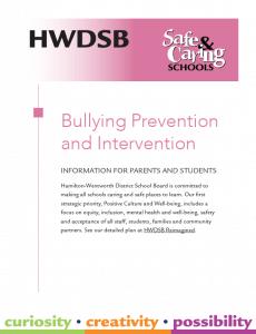 bullying guide