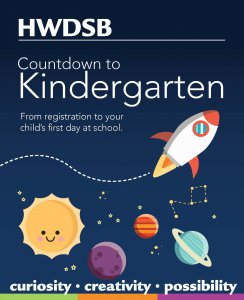 Countdown to Kindergarten booklet