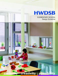 HWDSB Elementary School Design Guidelines