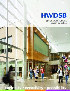 HWDSB Secondary School Design Guidelines