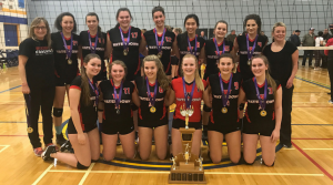 Waterdown Senior Girls Volleyball Champs