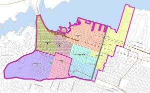 New French Immersion Boundaries Map