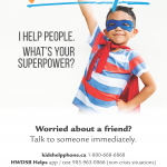 We Help poster