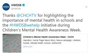 HWDSB tweet