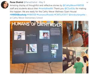 Cathy Wever tweet