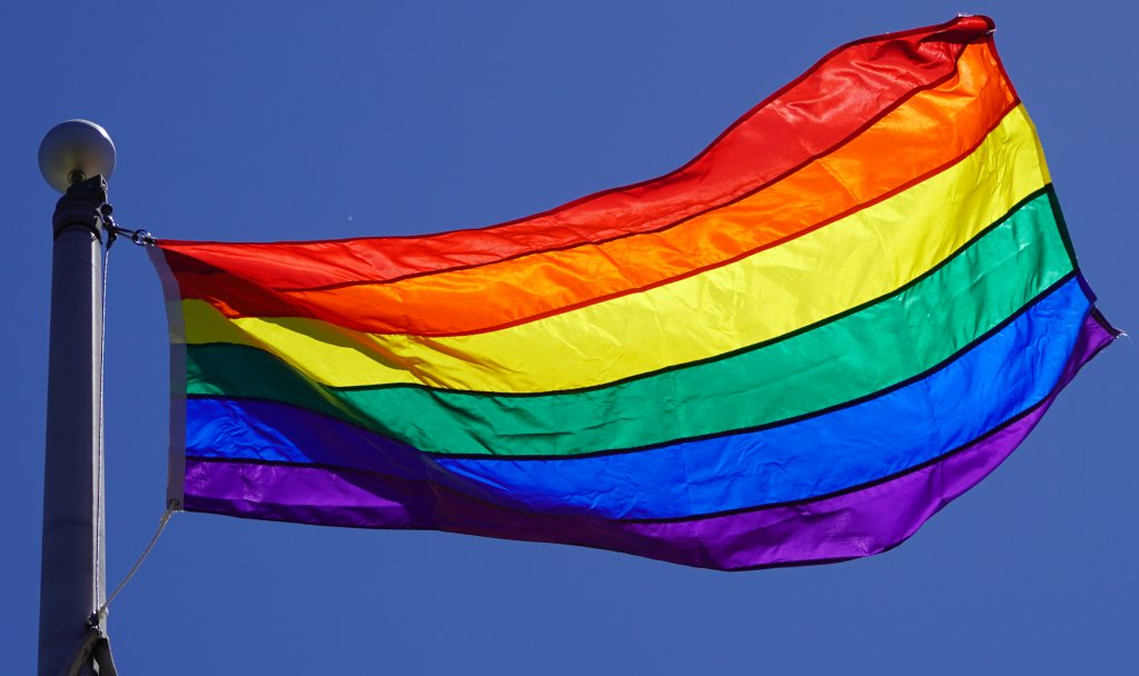 Pride Flag at HWDSB