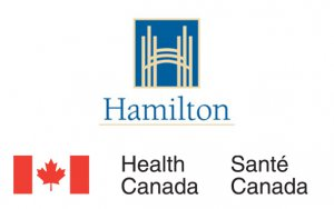 City of Hamilton & Health Canada Logos