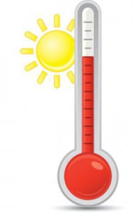 Heat Warning - Thermometer