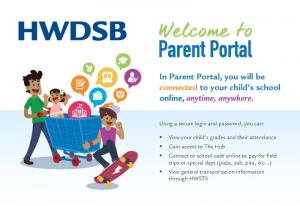 Parent Portal flyer