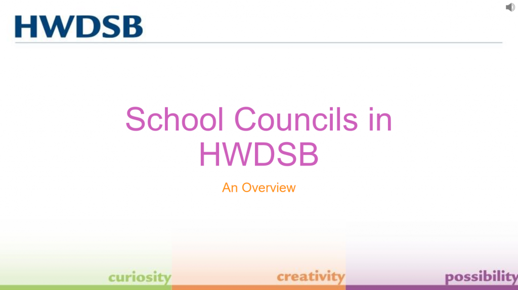 School Council 101