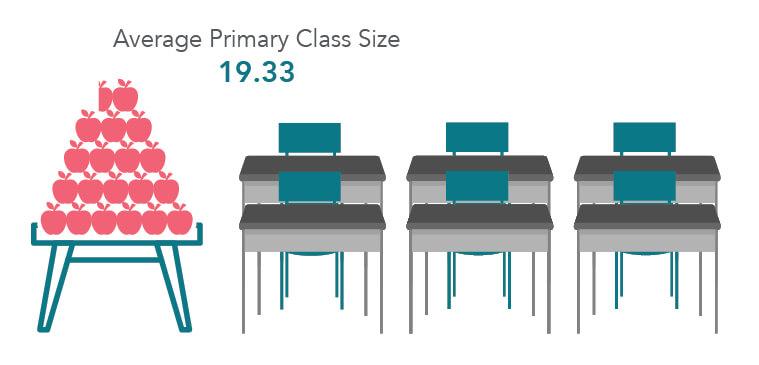 Average Primary Class Size