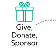 Give, donate, sponsor