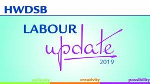 labour update graphic