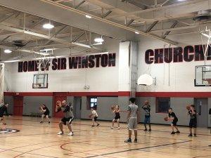 SWC basktball camp