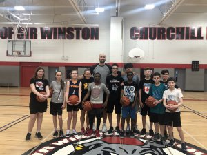SWC basketball camp