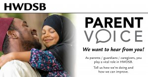 parent voice survey graphic